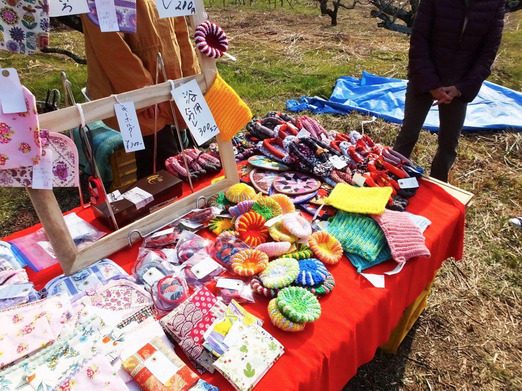 colorful handmade items