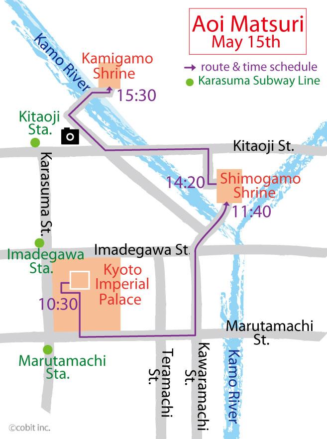 aoimatsuri map
