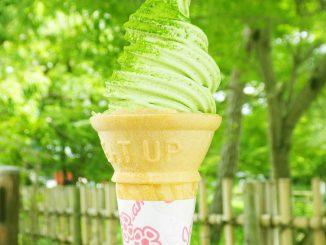 Byodoin soft-serve ice cream