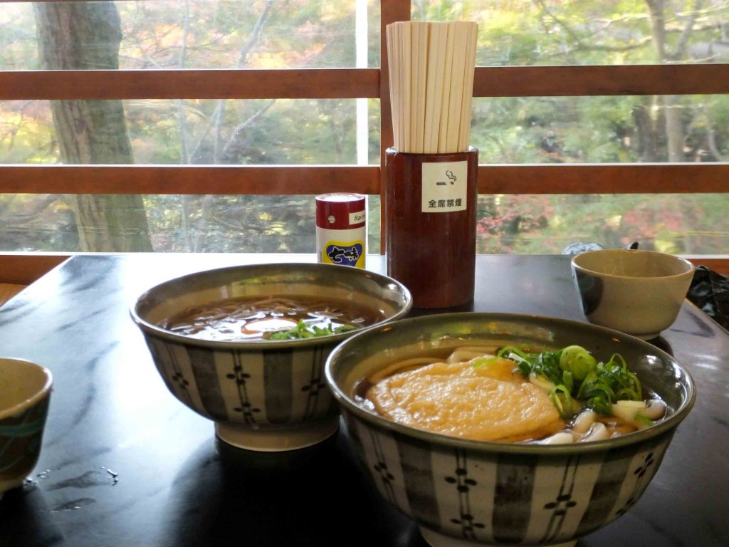 Japanese noodles at Takinoya