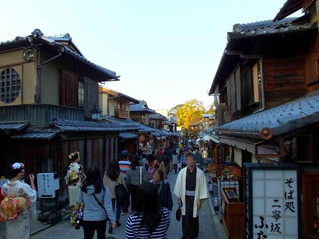 around Kiyomizu-dera Temple