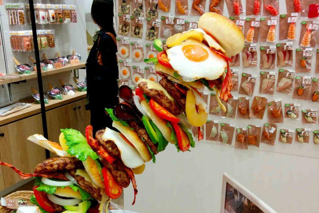 Fake food samples
