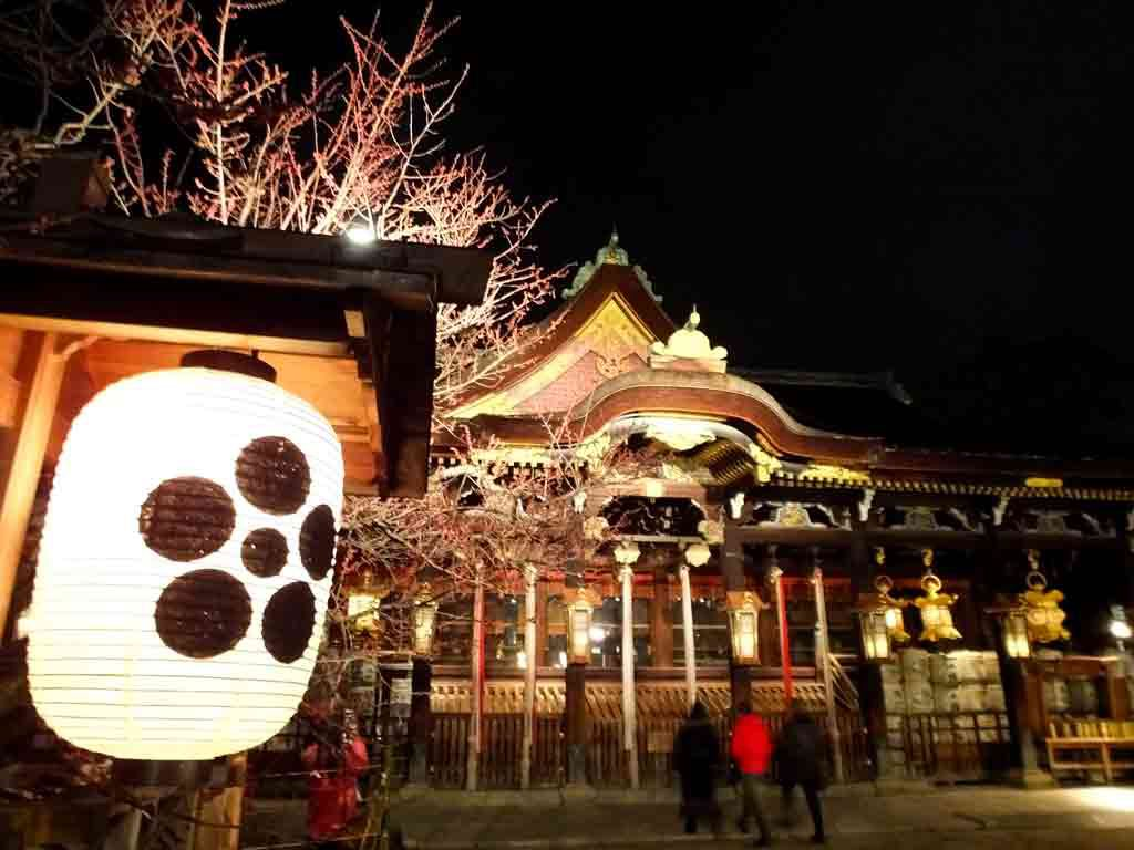 the-shrine-in-the-evening