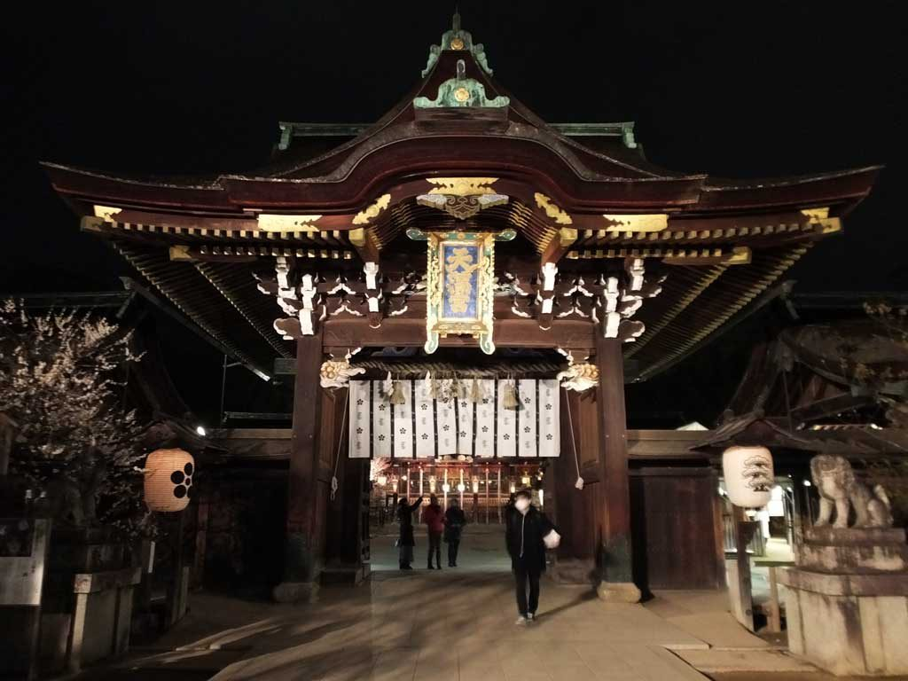 the shrine in the evening2