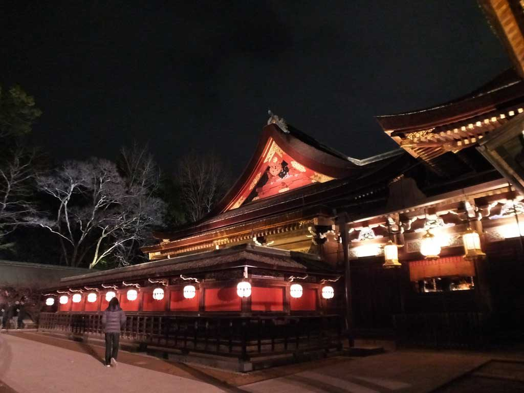 the shrine in the evening6