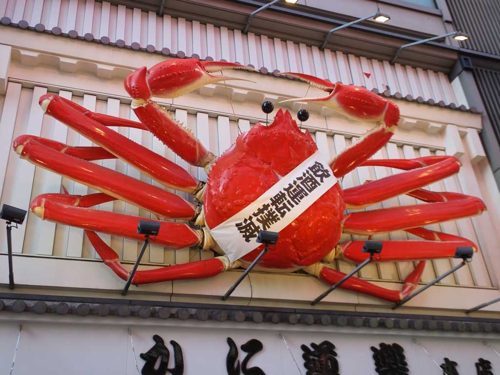the moving crab