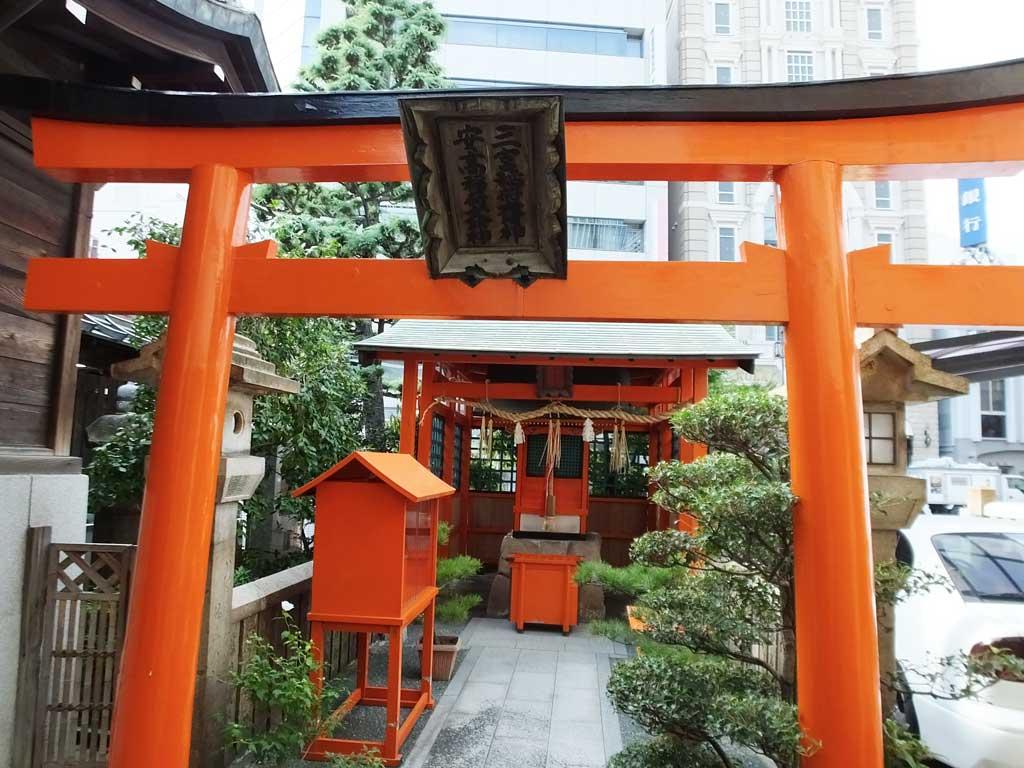 the vermillion torii gate