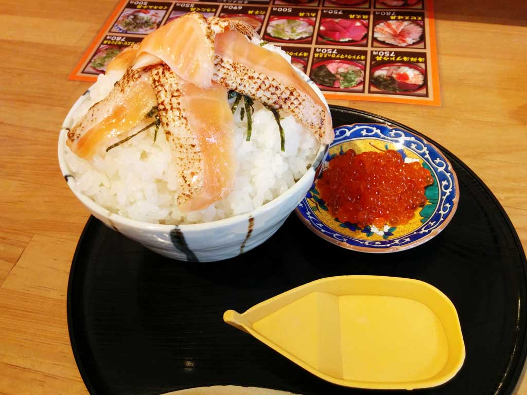 Kaisendon(Salmon&Ikra)