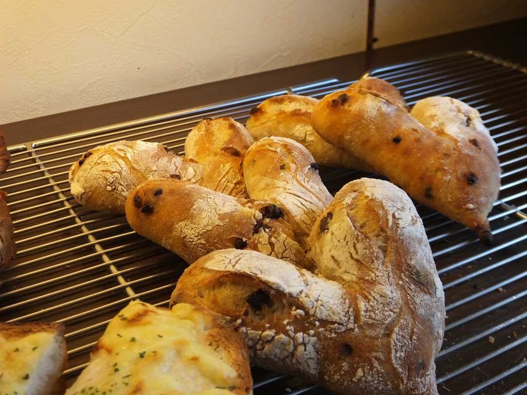 the heart-shaped bread for the project