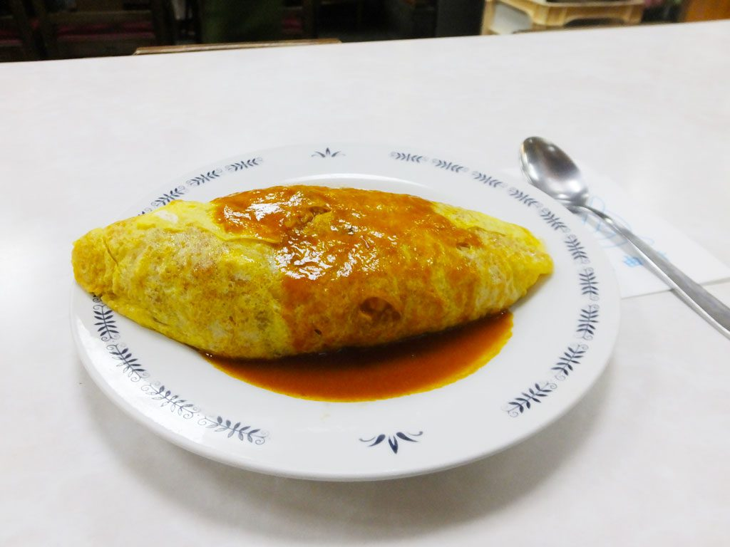 the omu rice