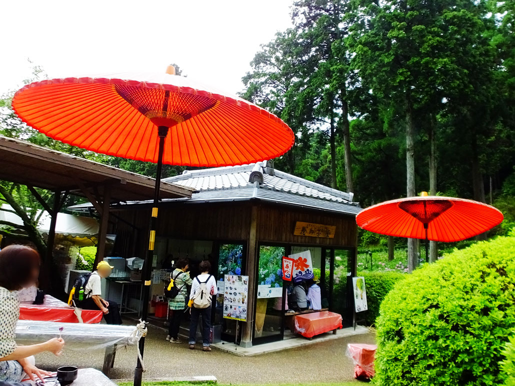 the Japanese sweet cafe