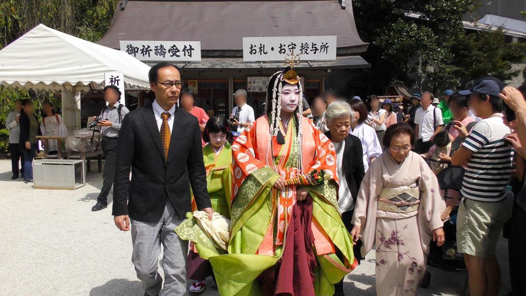 Saio-Dai at Choyo Ritual