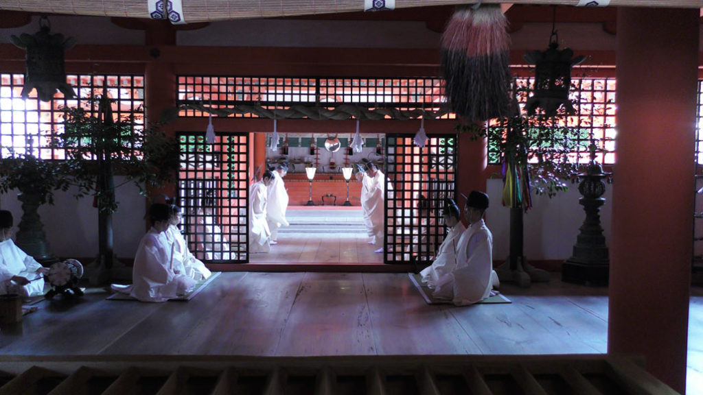 priests in Marodo Shrine