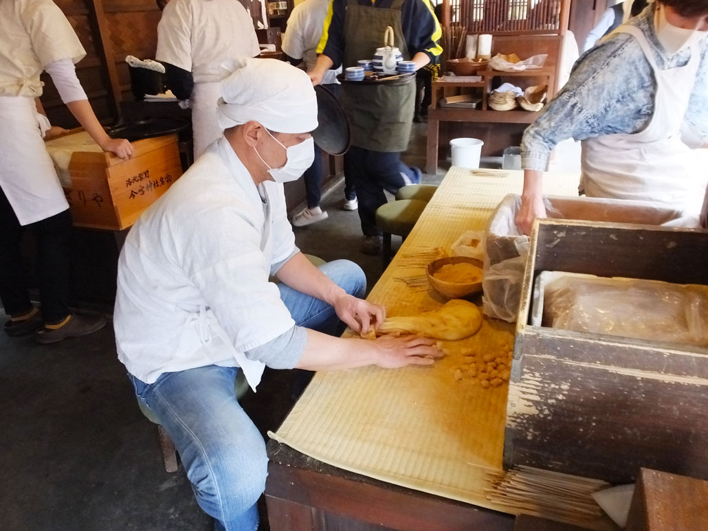 how the aburi-mochi are made1