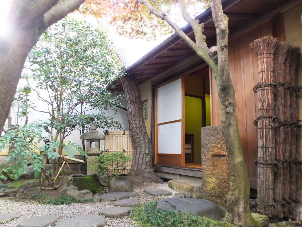 the tea ceremony room