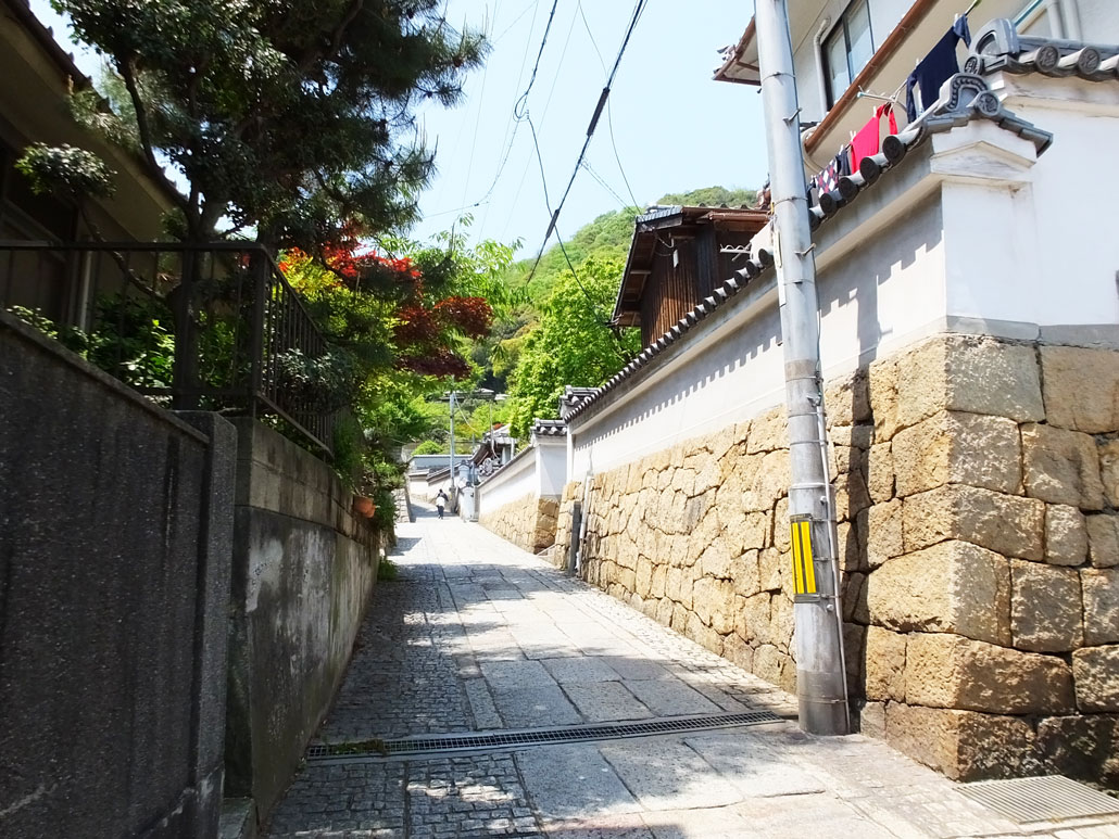 the slopes to Ioji Temple